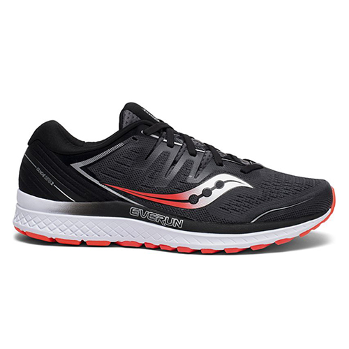 Saucony Guide ISO 2 Men's Black/Grey - Saucony Style # S20464-3 S19