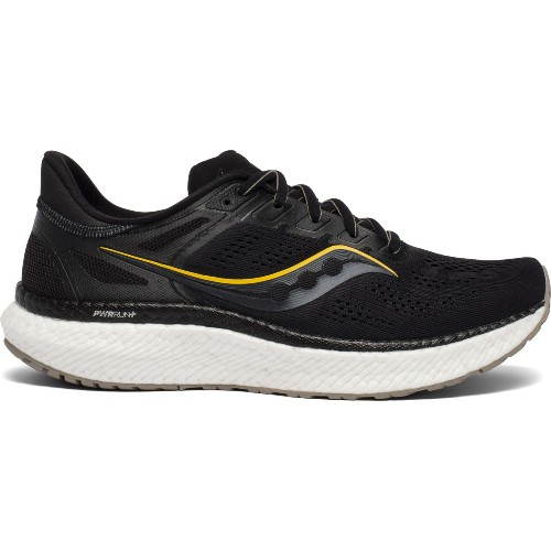Saucony Hurricane 23 Men's Black/ViziGold