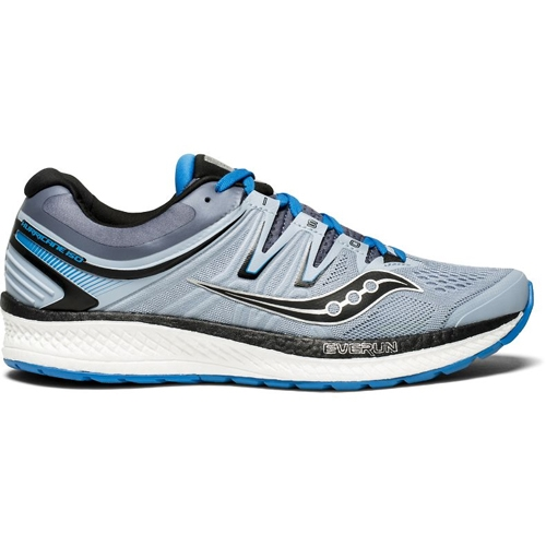Saucony Hurricane ISO 4 Men's Grey/Blue/Black - Saucony Style # S20412-2 F18