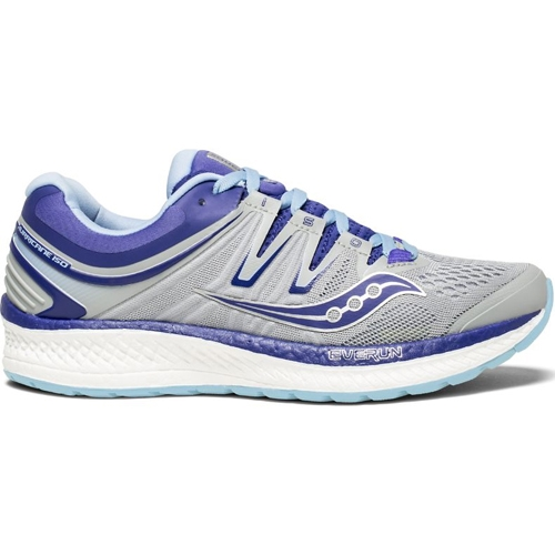 Saucony Hurricane ISO 4 Women's Grey/Blue/Purple