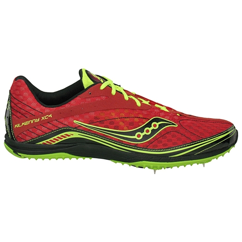 Saucony Kilkenny XC4 Spike Men's Red/Citron/Black - Saucony Style # 20124-4 F12