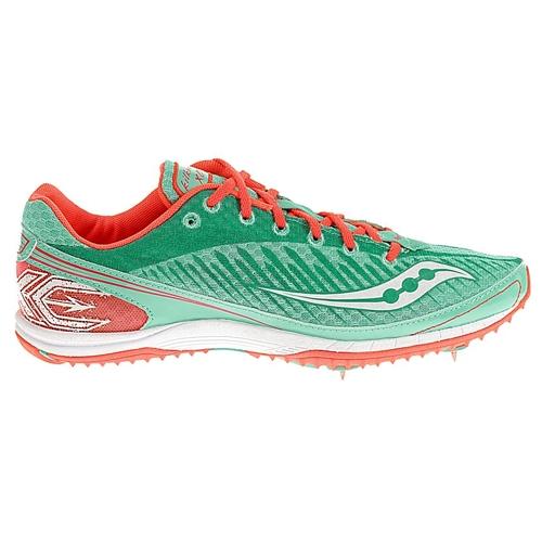 Saucony Kilkenny XC5 Spike Women's AquaVizi Coral Running