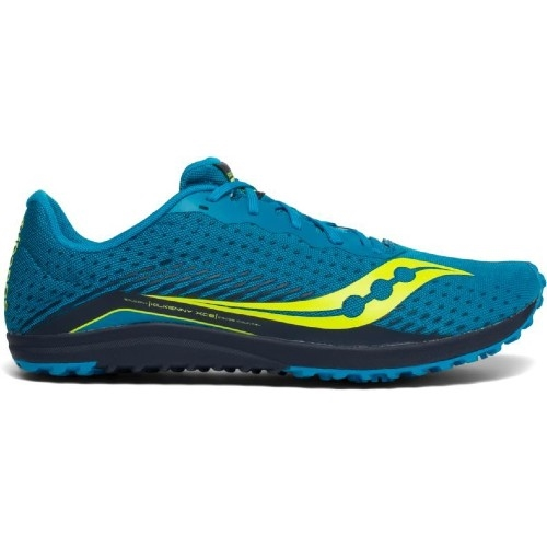 Saucony Kilkenny XC8 Spike Men's Blue/Citron