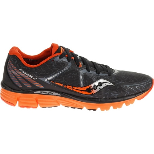 Saucony Kinvara 6 Runshield Men's Black/Orange - Saucony Style # S20283-1 C16