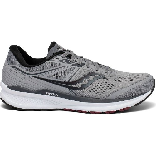 Saucony Omni 19 Men's Alloy / Brick