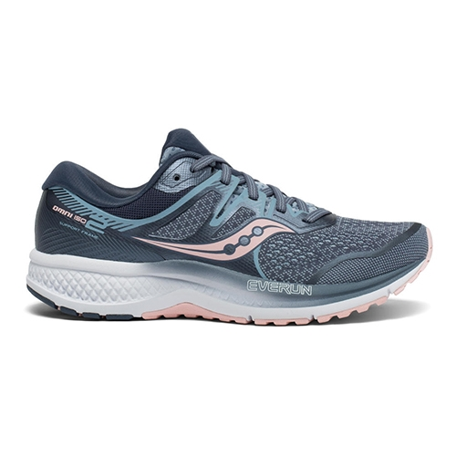 Saucony Omni ISO 2 Women's Slate/Pink - Saucony Style # S10511-1 F19