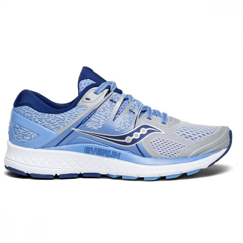 Saucony Omni ISO Women's Silver/Blue/Navy
