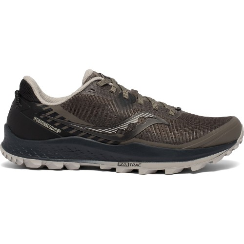 Saucony Peregrine 11 Men's Gravel/Black