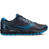 Saucony Peregrine 6 Ice + Men's Grey/Black/Blue