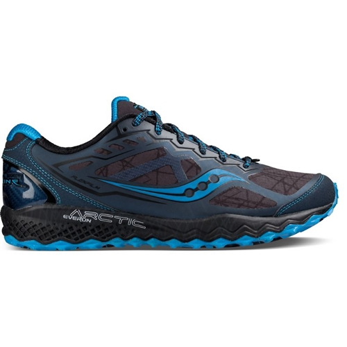 Schuhe SAUCONY Peregrine 8 Gtx GORE TEX S20454 1 BlkGryBlu