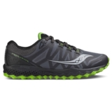 Saucony Peregrine 7 Men's Grey/Black/Lime