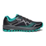 Saucony Peregrine 8 GTX Women's Black/Grey/Green