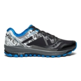 Saucony Peregrine 8 Ice + Men's Black/White/Blue