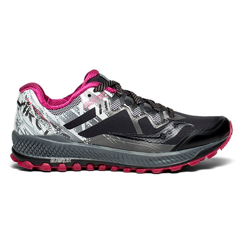 Saucony Peregrine 8 Ice + Women's Blue/Black/Vizi Red