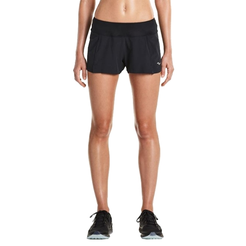 "Saucony Pinnacle Short 2.5"" Women's Black"
