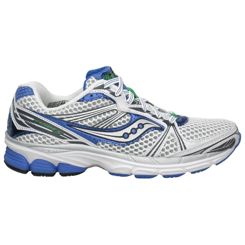 b38dcb108a67 Saucony Progrid Guide 5 Women s White Silver Blue - Saucony Style   10140-