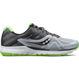 Saucony Ride 10 Men's Grey/Black/Slime