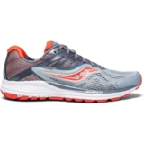 Saucony Ride 10 Women's Fog/Vizi Red