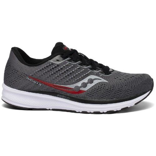 Saucony Ride 13 Men's Charcoal / Black