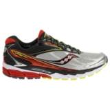 Saucony Ride 8 Men's Silver/Red/Citron