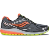 Saucony Ride 9 GTX Men's Black/Slime/Vizi Orange