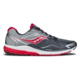 Saucony Ride 9 Men's Grey/Char/Red