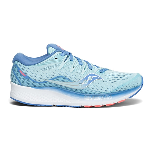 Saucony Ride ISO 2 Women's Blue/Coral