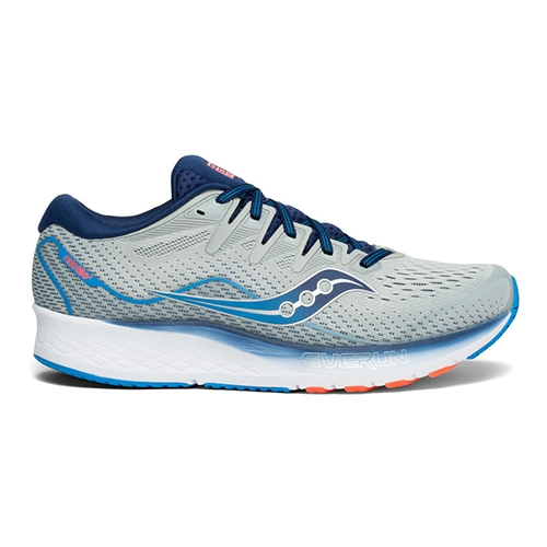 Saucony Ride ISO 2 Men's Grey/Blue