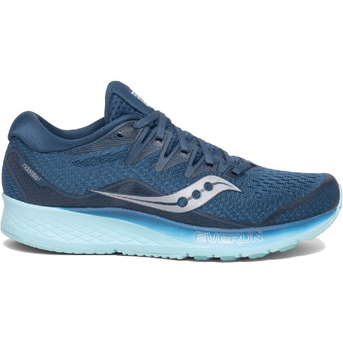 Saucony Ride ISO 2 Women's Blue/Aqua