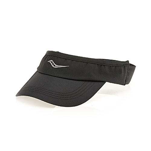 Saucony Speed Run Visor Unisex Black