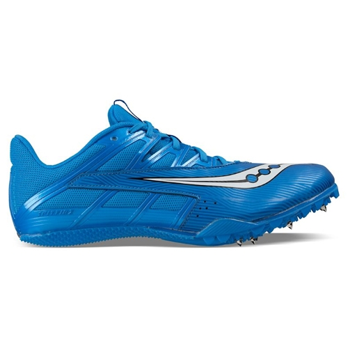 Saucony Spitfire Unisex Blue/White - Saucony Style # S29034-2 S17