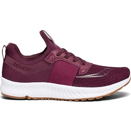 Saucony Stretch & Go Breeze Men's Burgundy