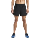 "Saucony Throttle 5"" Short Men's Black"