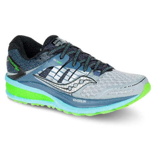 Saucony Triumph ISO 2 Women s Grey Blue Slime - Saucony Style   S10291- 82403f1122