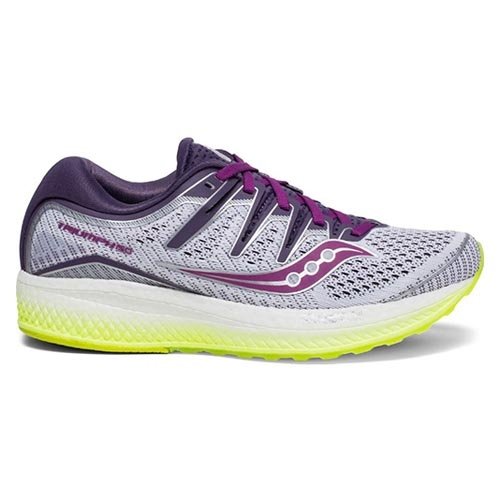 Saucony Triumph ISO 5 Women's White/Purple/Citron