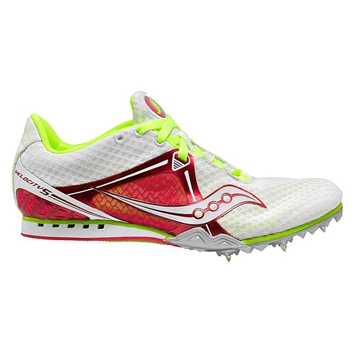 Saucony Velocity 5 Women's White/Red/Citron