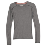 Saucony Velocity Long Sleeve Women's Carbon Heather