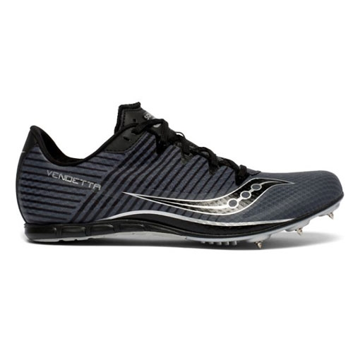 Saucony Vendetta 2 Men's Grey/Black