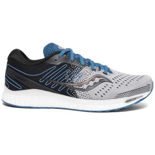 Saucony-Freedom-3 Men's Grey/Blue