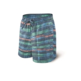 "Saxx Cannonball Swim 7"" Men's Blue Point Break"