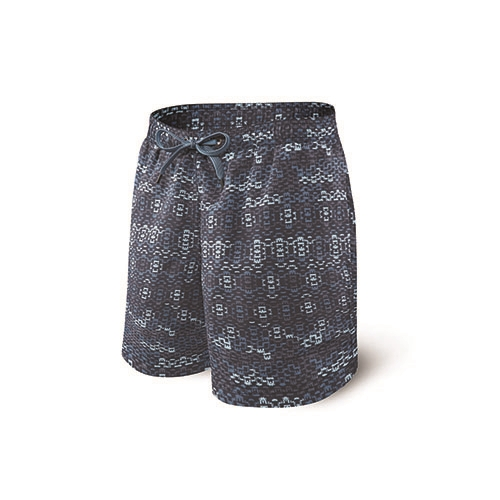 "Saxx Cannonball Swim 7"" Men's Blue Waterfall"