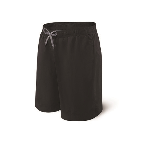 "Saxx Cannonball Swim Long 9"" Men's Blackout"