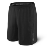 "Saxx Kinetic Run Long 7"" Men's Black"