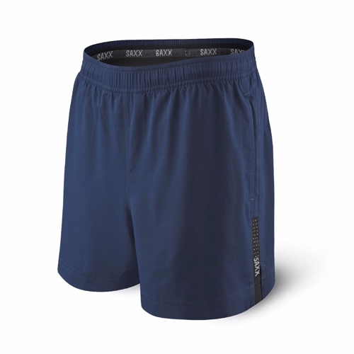Saxx Kinetic Run Short Men's Bright Navy