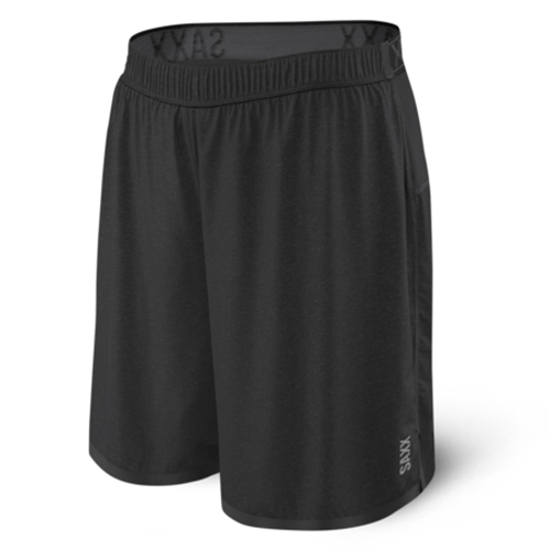 "Saxx Pilot 2In1 7"" Short Men's Black Heather"