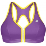 Shock Absorber Zipped Plunge Women's Purple/Yellow