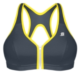 Shock Absorber Zipped Plunge Women's Grey w/ Yellow Trim