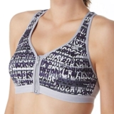 Shock Absorber Zipped Plunge Women's Print Logo