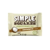 Simple Squares Organic Bar Cocconut 45g