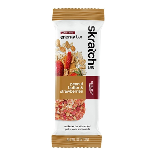 Skratch Energy Bar Single 50g Peanut Butter & Strawberries